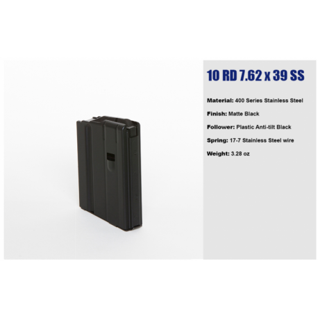 Magazynek do AR-15 10 nab. kal. 7,62x39 firmy C-PRODUCTS DEFENSE