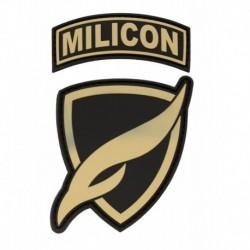 Naszywka zespołowa MILICON piaskowa