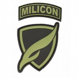 Naszywka zespołowa MILICON zielona
