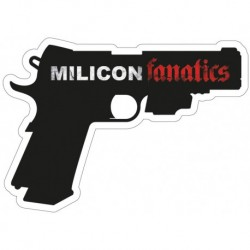 Naklejka 1911 MILICON FANATICS