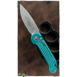 Nóż Microtech LUDT Automatic Knife Turquoise (3.4