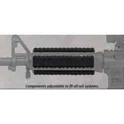 Silikonowe osłony na szynę picatinny komplet Manta  - Very-Low-Profile Rail Guards (3 Pack)
