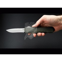 Nóż Heretic Knives Manticore-X Battleworn Recurve Breakthrough Green OTF Automatic H033-5A-BRKGRN