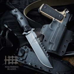 Nóż  HALFBREED  LSK01 Large Survival Knife czarny