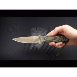 Nóż SPARTAN BLADES Harsey TT - FDE/CAMO - kydex