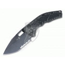 Nóż Heretic Knives Medusa Tanto OTS Automatic Serrated Black DLC S35VN Carbon Fiber H011-6B-CF