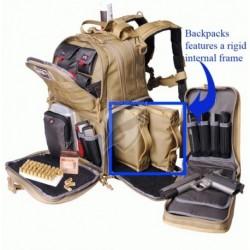 Plecak strzelecki - Tactical Range Backpack kolor Green/Khaki