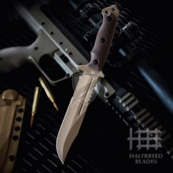 Nóż HALFBREED BLADES LIK-01 Large  Infantry Knife - Dark Earth
