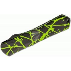 Nóż Heretic Knives Manticore-X H032-6A-GS Double Edge DLC Green Splash