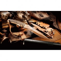 Nóż SPARTAN BLADES Ares - TAN