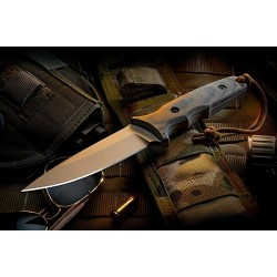 Nóż SPARTAN BLADES Harsey TT - FDE Multicam