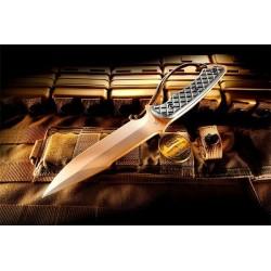 Nóż SPARTAN BLADES Horkos - FDE/BLK