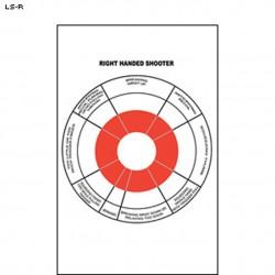 Tarcza strzelecka szkoleniowa (praworęczni)