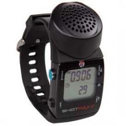 Timer strzelecki Shotmaxx 2 z jasnym wyświetlaczem watch timer White Display