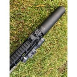 L-Tac #Hush-Tac urządzenie wylotowe - tłumik AR-15 .223 gwint 1/2x28