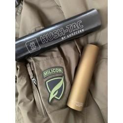 L-Tac #Hush-Tac urządzenie wylotowe - tłumik AR-15 .223 gwint 1/2x28 kolor Olive