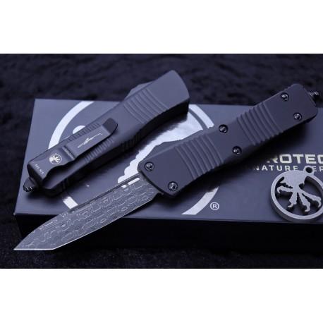 """Nóż Microtech Troodon OTF Automatic Knife Tanto 3"""" Damascus 140-16S - dostawa luty 2021"""