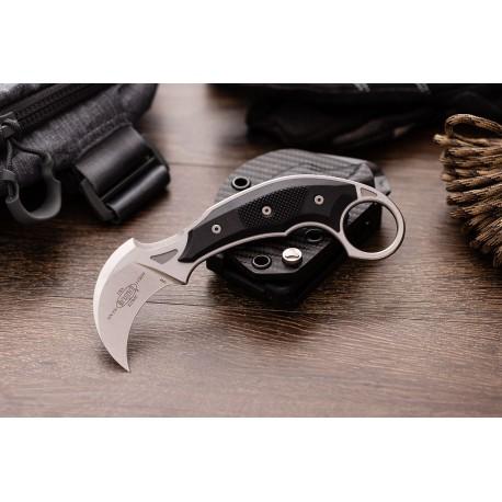 """Nóż  Microtech/Bastinelli Creations 118-10 R Iconic Fixed Blade Knife 2.25"""" Stonewashed DOSTAWA CZERWIEC 2021"""