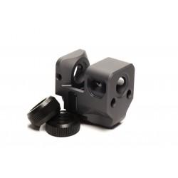 Kompensator Killer Innovations do pistoletów Glock gen 5 /ZEV z lufą z gwintem 1/2x28