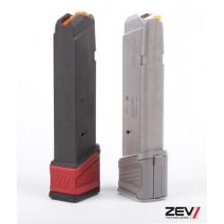 Stopka magazynka Glock ZEV TECH - kolor  czerwony
