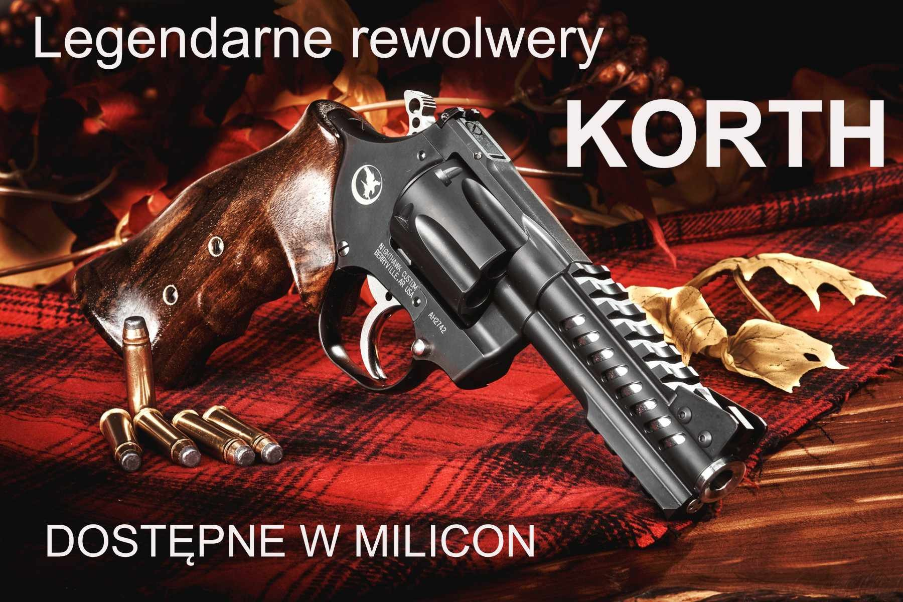Rewolwery Korth